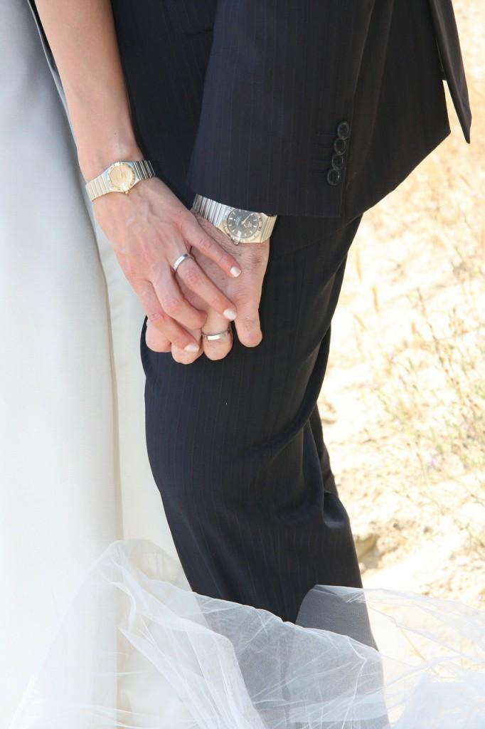 Schmuck für die Hochzeit